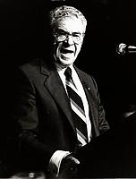 Montreal (QC) CANADA ca 1986 file photo -<br /> simon reisman