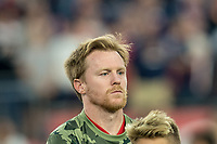 FOXBOROUGH, MA - AUGUST 24: Dax McCarty #6 of Chicago Fire during a game between Chicago Fire and New England Revolution at Gillette Stadium on August 24, 2019 in Foxborough, Massachusetts.