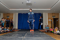 Joe Jacobson of Wycombe Wanderers during the 2016/17 Kit Launch of Wycombe Wanderers to the public at Adams Park, High Wycombe, England on 10 July 2016. Photo by David Horn.