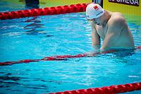 Sun Yang of China celebrates after winning the men's 200m freestyle final during 18th Fina World Championships Gwangju 2019 at Nambu University Municipal Aquatics Centre, Gwangju, on 23  July 2019, Korea.  Photo by : Ike Li / Prezz Images
