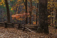 Fine Art Landscape Photograph of Mount Kennesaw, National Battlefield Park, in Atlanta, Georgia. <br />