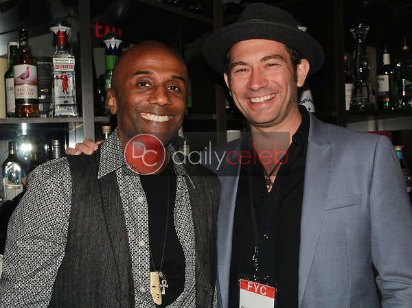 """Joel Thompson, Brent Harvey<br /> at the """"Struggleing"""" For Your Consideration event hosted by A. Whole Productions and Brent Harvey Films, Crossroads Kitchen, Los Angeles, CA 06-06-18<br /> David Edwards/DailyCeleb.com 818-249-4998"""