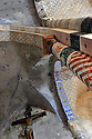 18/01/12 - JENZAT - ALLIER - FRANCE - Fresques dans l eglise romane de Jenzat - Photo Jerome CHABANNE
