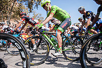 Castellon, SPAIN - SEPTEMBER 7: Andrew Talansky during LA Vuelta 2016 on September 7, 2016 in Castellon, Spain