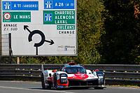 #7 TOYOTA GAZOO RACING - Toyota GR010 - Hybrid: Mike Conway - Kamui Kobayashi - Jose Maria Lopez - Sebastien Buemi - Nyck de Vries, 24 Hours of Le Mans , Test Day, Circuit des 24 Heures, Le Mans, Pays da Loire, France