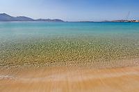 Platia Pounda beach of Koufonissi island in Cyclades, Greece