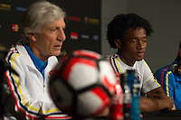 Copa America, Colombia Training and Press Conference, June 24, 2016