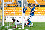 St Johnstone v Brechin….24.07.19      McDiarmid Park     Betfred Cup       <br />Chris Kane scores saints second goal<br />Picture by Graeme Hart. <br />Copyright Perthshire Picture Agency<br />Tel: 01738 623350  Mobile: 07990 594431