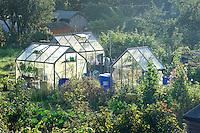 Garden allotments, Settle, North Yorkshire......John Eveson, Dinkling Green Farm, Whitewell, Clitheroe, Lancashire. BB7 3BN.01995 61280. 07973 482705.j.r.eveson@btinternet.com.www.johneveson.com