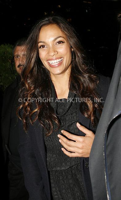 WWW.ACEPIXS.COM . . . . .  ....September 17 2009, New York City....Actress Rosario Dawson at Mercedes Benz New York Fashion Week on September 17, 2009 in New York City.....Please byline: NANCY RIVERA - ACEPIXS.COM.... *** ***..Ace Pictures, Inc:  ..tel: (212) 243 8787..e-mail: info@acepixs.com..web: http://www.acepixs.com