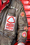 Nottingham Forest 1 Birmingham City 0, 19/04/2014. City Ground, Championship. A Nottingham Forest supporter during the Championship fixture between Nottingham Forest and Birmingham City from the City Ground. Nottingham Forest won the game 1-0.  Photo by Simon Gill.