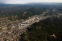 aerial photograph  Scotts Valley, Santa Cruz county, California