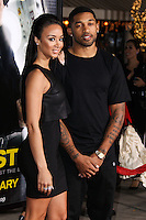 """WESTWOOD, CA, USA - FEBRUARY 24: Draya Michele, Orlando Scandrick at the World Premiere Of Universal Pictures And Studiocanal's """"Non-Stop"""" held at Regency Village Theatre on February 24, 2014 in Westwood, Los Angeles, California, United States. (Photo by Xavier Collin/Celebrity Monitor)"""