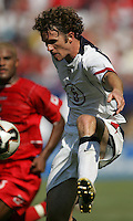 July 24, 2005: East Rutherford, NJ, USA:  USMNT midfielder John O'Brien (5) takes a touch on the ball during the CONCACAF Gold Cup Finals at Giants Stadium.  The USMNT won 3-1 on penalty kicks.