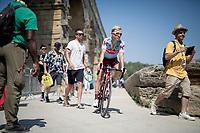 race start at the Pont du Gard<br /> <br /> Stage 17: Pont du Gard to Gap(206km)<br /> 106th Tour de France 2019 (2.UWT)<br /> <br /> ©kramon