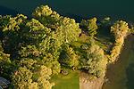 Aerial View of Sacajawea State Park in Pasco, Washington