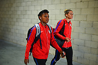 Carson, CA - Thursday August 03, 2017: Margaret Purce prior to a 2017 Tournament of Nations match between the women's national teams of the United States (USA) and Japan (JPN) at the StubHub Center.