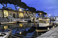- Viareggio (Toscana), località balneare, porto-canale Burlamacca, Museo della Marineria<br /> <br /> - Viareggio (Tuscany), seaside resort, Burlamacca harbor-channel, Maritime Museum