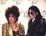 Michael Jackson 1993 American Music Awards with Elizabeth Taylor