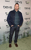 """LOS ANGELES - MARCH 2: Nick Offerman attends the premiere of the new FX limited series """"Devs"""" at ArcLight Cinemas on March 2, 2020 in Los Angeles, California. (Photo by Frank Micelotta/FX Networks/PictureGroup)"""