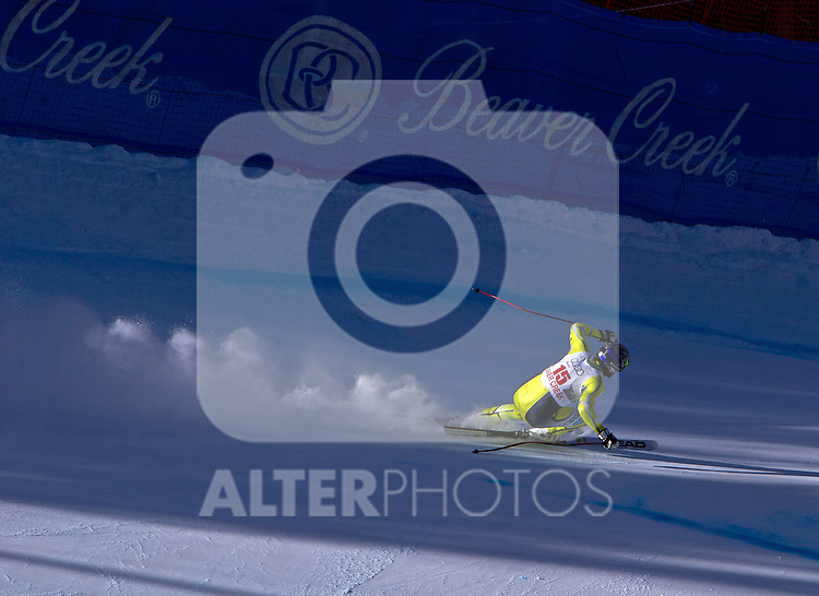 30.11.2011, Birds of Prey, Beaver Creek, USA, FIS Weltcup Ski Alpin, Abfahrt Herren, 2. Training, im Bild  Norwegian Ski Team Athlete Aksel Lund Svindal // during a men's downhill practice session at FIS alpine Ski Worldcup on the Birds of Prey downhill course, Beaver Creek, United Staates on 2011/11/30 , EXPA Pictures © 2011, PhotoCredit: EXPA/ Jonathan Selkowitz..***** ATTENTION - out of USA *****