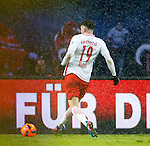 Oliver Burke taps in to score for RB Leipzig