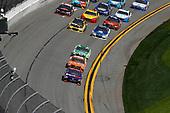 2017 NASCAR Cup - Clash at Daytona<br /> Daytona International Speedway, Daytona, FL USA<br /> Sunday 19 February 2017<br /> Denny Hamlin, FedEx Express Toyota Camry, Daniel Suarez, ARRIS Toyota Camry, Matt Kenseth, DeWalt Toyota Camry<br /> World Copyright: Michael L. Levitt/LAT Images<br /> ref: Digital Image levitt-0217-D500_07561