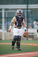 Darren Leon (60), from Miami, Florida, while playing for the Brewers during the Baseball Factory Pirate City Christmas Camp & Tournament on December 29, 2017 at Pirate City in Bradenton, Florida.  (Mike Janes/Four Seam Images)