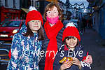Margaret Mullins Killarney showing her grandchildren Aoife and Sean the Christmas lights in Killarney on Sunday