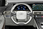 Car pictures of steering wheel view of a 2019 Hyundai Nexo Limited 5 Door SUV Steering Wheel