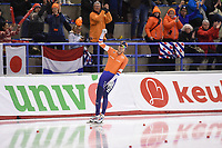 SPEEDSKATING: CALGARY: 03-03-2019, ISU World Allround Speed Skating Championships, World Champion Patrick Roest (NED), ©Fotopersburo Martin de Jong