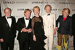 Jack Welch, Arnold Scaasi, Hillary Rodham Clinton, Tom Wolfe and Liz Smith Attending  the Literacy Partners 20th  Annual Gala,.AN EVENING OF READINGS at Lincoln Center, Honoring Tom Brokaw, Tim Russert and Jack Welch..May 3, 2004.