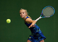 Almere, Netherlands, December 6, 2015, Winter Youth Circuit, Joelle Steur (NED)<br /> Photo: Tennisimages/Henk Koster