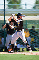 Pittsburgh Pirates Eric Wood (28) during an Instructional League Intrasquad Black & Gold game on September 21, 2016 at Pirate City in Bradenton, Florida.  (Mike Janes/Four Seam Images)