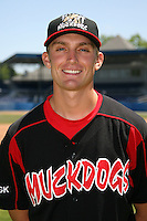 June 16, 2009:  Santo Maertz of the Batavia Muckdogs poses for a head shot before the teams practice at Dwyer Stadium in Batavia, NY.  The Batavia Muckdogs are the NY-Penn League Single-A affiliate of the St. Louis Cardinals.  Photo by:  Mike Janes/Four Seam Images