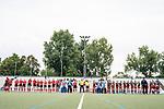 Mannheim, Germany, September 26: During the hockey women fieldhockey match between Mannheimer HC and Club Raffelberg on September 26, 2021 at Am Neckarkanal in Mannheim, Germany. (Photo by Dirk Markgraf / www.265-images.com) *** Local caption ***