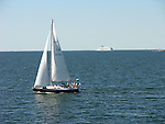 Sailing in the Archipelago off the Western Coast of Finland