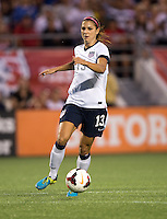 Alex Morgan.  The USWNT defeated Brazil, 4-1, at an international friendly at the Florida Citrus Bowl in Orlando, FL.
