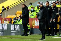 20th February 2021; Carrow Road, Norwich, Norfolk, England, English Football League Championship Football, Norwich versus Rotherham United; Rotherham United Manager Paul Warne