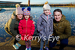Helen, Ellie, Caoimhe and Killian Madden enjoying a stroll around the Tralee Bay Wetlands on Saturday.
