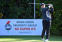 Mason Lee. Day two of the Jennian Homes Charles Tour / Brian Green Property Group New Zealand Super 6's at Manawatu Golf Club in Palmerston North, New Zealand on Friday, 6 March 2020. Photo: Dave Lintott / lintottphoto.co.nz