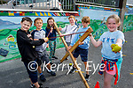 Enjoying their fun day in Listellick NS on Friday, l to r: Jamie Conway, Liam Culloty, Niamh Spellman, Tadgh Counihan, Tadgh Slattery and Lauren Hayes.