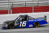 NASCAR Camping World Truck Series <br /> Active Pest Control 200<br /> Atlanta Motor Speedway, Hampton, GA USA<br /> Saturday 24 February 2018<br /> Brett Moffitt, Hattori Racing Enterprises, AISIN Atlanta Toyota Tundra<br /> World Copyright: Nigel Kinrade<br /> NKP / LAT Images