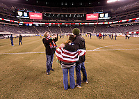 US Supporter's Club, field.The USMNT tied Argentina, 1-1, at the New Meadowlands Stadium in East Rutherford, NJ.