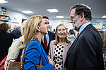 """Teodoro Garcvia Egea, Dolores de Cospedal, Ana Pastor and the former president of the government, Mariano Rajoy, in the presentation of the book """"Cada dia tiene su afan"""" by former minister Jorge Fernandez Diaz.<br /> October 10, 2019. <br /> (ALTERPHOTOS/David Jar)"""