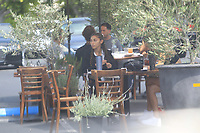 Chantel Jeffries Has Lunch With A Friend In Studio City
