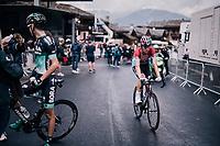 Bob Jungels (LUX/Quick-Step Floors) post-finish<br /> <br /> Stage 5: Grenoble > Valmorel (130km)<br /> 70th Critérium du Dauphiné 2018 (2.UWT)