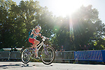 A girl participant races in the Shimano Kid's 4 mile ride during the Epic Rides' Inaugural Carson City Off-Road event on Sunday, June 19, 2016 in Carson City, Nev.<br /> Photo by Kevin Clifford/Nevada Photo Source