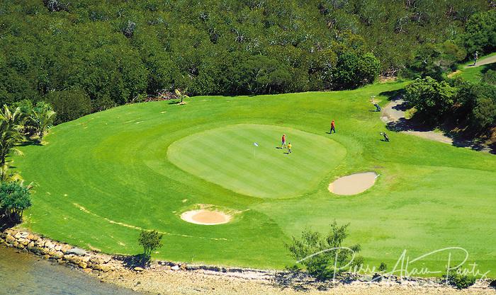 Nouméa, le golf de Tina