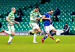 Celtic v St Johnstone…06.12.20   Celtic Park      SPFL<br />Chris Kane is tackled by Nir Bitton<br />Picture by Graeme Hart.<br />Copyright Perthshire Picture Agency<br />Tel: 01738 623350  Mobile: 07990 594431